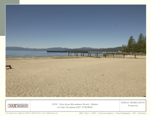 North Tahoe Marina Visual Simulation